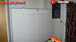 Do It Yourself Murphy Bed Diy How To Build A Murphy Bed Without The Kit Youtube