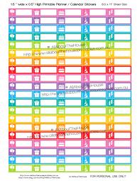 rainbow black friday black friday sale birthday stickers printable calendar planner