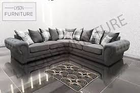 Chesterfield Corner Sofas Corner Chesterfield Sofa Grey Functionalities Net
