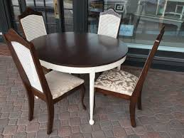 cane back chairs set of 4 fresh vintage nc