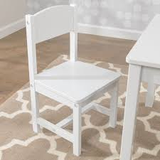 kidkraft aspen table u0026 2 chair set white walmart com