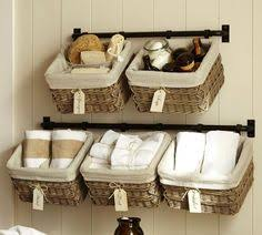 bathroom towels ideas a towel rack gets a brand look for hanging basket storage