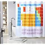 Shower Curtain Chemistry Amazon Com Periodic Table Shower Curtain Eva Vinyl The