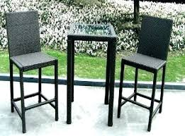 high table patio set high top fire pit table mozano info