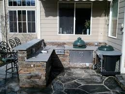 outdoor kitchen for an egg u2014 big green egg egghead forum the