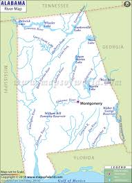 Map Of Alabama And Tennessee by Alabama Rivers Map Rivers In Alabama