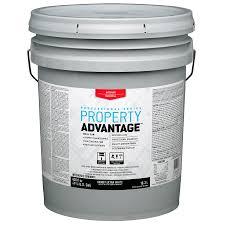 shop property advantage white eggshell latex interior paint