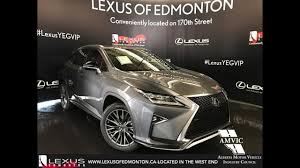 used lexus rx 350 hybrid 2017 grey lexus rx 350 awd f sport series 2 in depth review