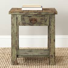 Antique Accent Table Fabulous Antique Accent Table Painted Distressed Antique