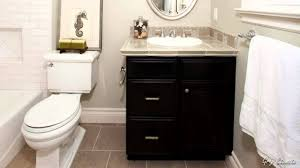 Narrow Bathroom Vanity by Small White Bathroom Decoration Using Corner L Shape Narrow