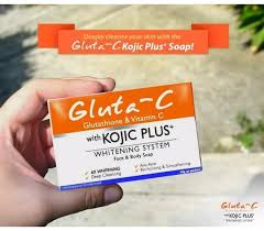 Gluta Soap gluta c with kojic plus whitening system and soap