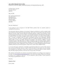 brilliant ideas of journalism jobs cover letter sample with