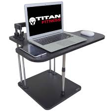 Stand Sit Desk Titan Deluxe Adjustable Height Standing Desk Conversion Kit Riser