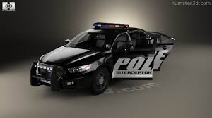 Ford Taurus Interior 360 View Of Ford Taurus Police Interceptor Sedan With Hq Interior