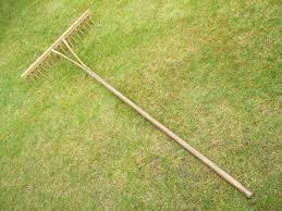 traditional vintage bent wood peg rake hay rake grass rake