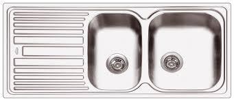 Abey Kitchen Sinks Abey Dl180 1 3 4 Right Bowls Sink Package Sink 3k1 Sink