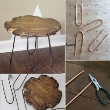 diy hairpin style furniture legs popsugar home