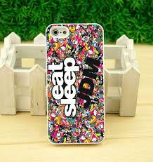 jdm sticker bomb eat sleep jdm sticker bomb case iphone 4 5 5s 6 6s plus samsung s