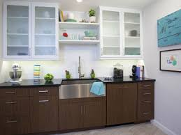 frosted glass kitchen wall cabinets two toned kitchen cabinets pictures ideas from hgtv hgtv