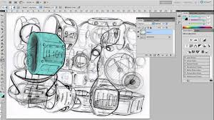 color a sketch in photoshop quickly youtube
