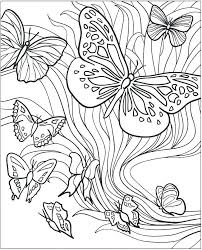 detailed butterfly coloring pages for adults butterfly color pages 55 and printable butterfly coloring pages