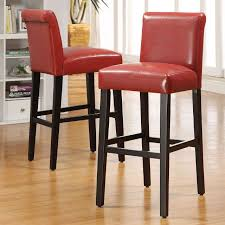 stools design awesome red counter height stools breathtaking red
