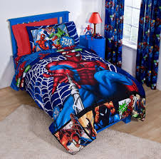 the application of avengers bedding into the room custom home design wonderful spiderman bedroom image 10 of 10