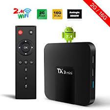 mini tv for android tx3 mini android 7 1 tv box 2gb 16gb 4k tv amlogic