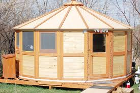 Yurt House by Trio Crafts Portable Yurts