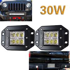 Flush Mount Led Lights 30w Cree Flush Mount Led Cube Pod Light Bar Light Bar Rocks