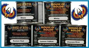 amazon com house of kolor lettering enamel pinstripe paint 5 set
