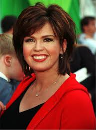 how to cut hair like marie osmond marie osmond short straight layered capless synthetic wigs 10