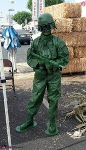 Green Army Man Halloween Costume Green Army Man Costume Costumes Army