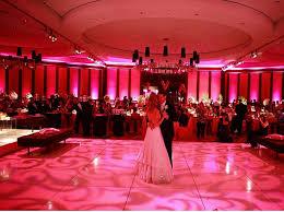 uplighting for weddings gorgeous pink uplighting and a gobo monogram on the floor