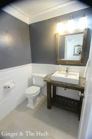 Vanity Powder Room Pottery Barn Inspired Vanity Abbot Consol Buildsomething Com