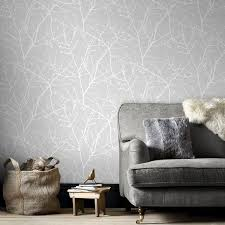 Top  Best Grey Wallpaper Ideas On Pinterest Grey Bedroom - Bedroom wallpaper design ideas