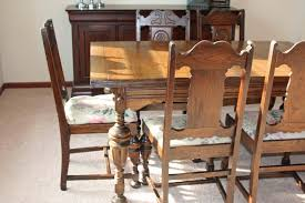 Vintage Oak Dining Chairs Dining Room Outstanding Used Dining Sets Used Dining Room Chairs