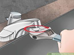 How To Fix A Low Pressure Faucet 3 Ways To Increase Water Pressure Wikihow