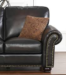 Leather Loveseats Loveseats Braxton Leather Loveseat