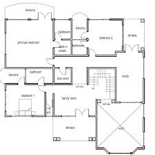 Ghana House Plans Ohenewaa House Three Bedroom House Plan In Ghana