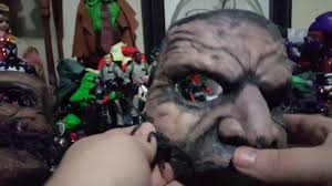 Slipknot Corey Taylor Halloween Masks by Corey Taylor 5 Mask Version 2 Replica Unboxing Youtube