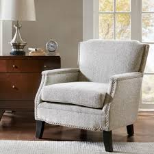madison park signature sherman taupe dark brown accent chair