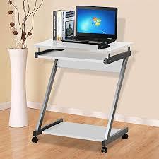 Z Shaped Desk Tinxs Home Office Z Shaped Computer Desk With Sliding Keyboard 4