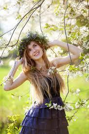beautiful enjoying the spring beauty u0026 fashion photos
