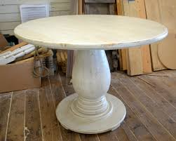 Handcrafted Wood Tables 42 Inch Round Pedestal Table Huge Tear Drop Pedestal Solid