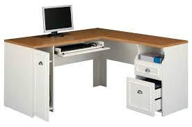 Desk L With Organizer White L Desk Antique White L Shaped Computer Desk Magnifier White