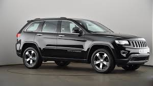 used jeep cherokee used jeep grand cherokee 3 0 crd limited plus 5dr auto black