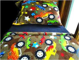 Monster Truck Bed Set Fire Truck Toddler Bedding Set Home Design U0026 Remodeling Ideas