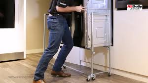 how to install a wall oven in a base cabinet easily install a wall oven with one person using the alldolly youtube