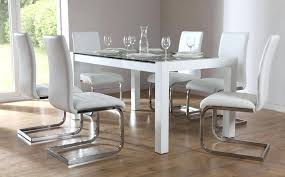 Glass Dining Table With 6 Chairs Dining Table And 6 Chairs Glass Chairsglass Strike For Sale